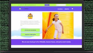 io bounceparty laptop Websites