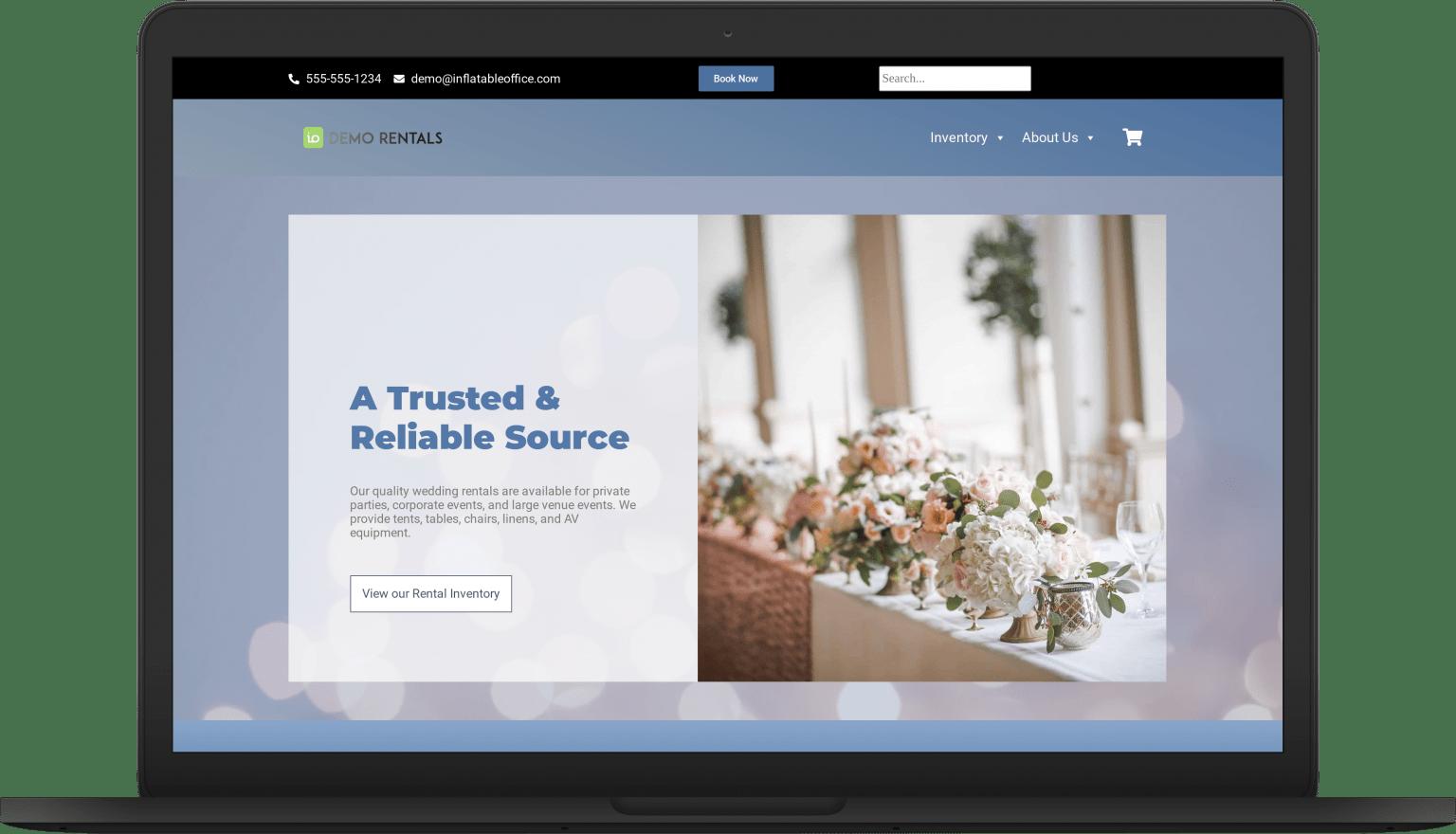 io specialist laptop Website Themes