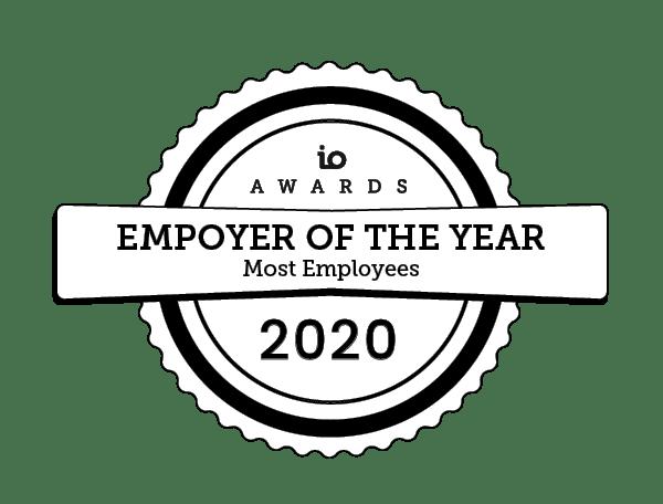 io awards employer 2020 IO Awards