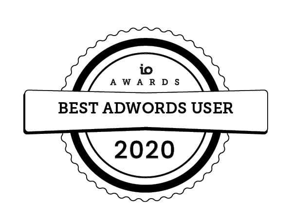 io awards adwords 2020 IO Awards