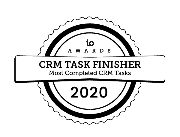 io awards crm 2020 IO Awards