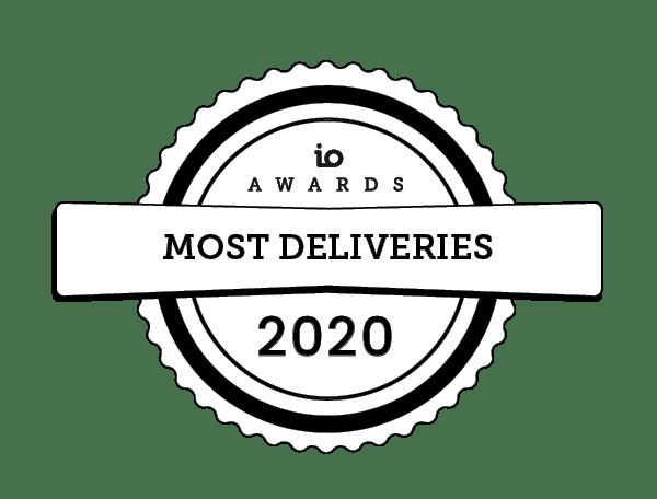 io awards deliveries 2020 IO Awards
