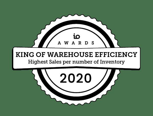io awards effiicieny 2020 IO Awards