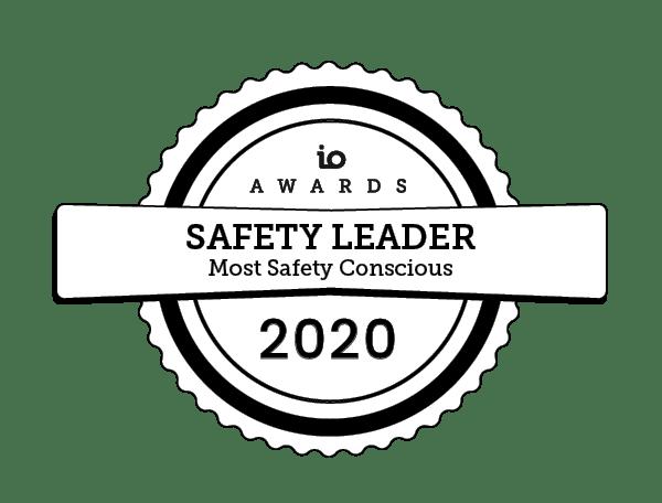 io awards safety 2020 IO Awards