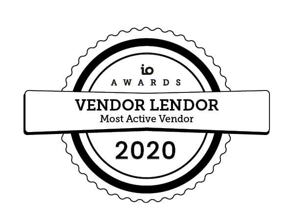 io awards vendor 2020 IO Awards